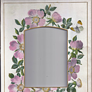 SALE Lovely Mat Frame from Victorian Photo Album, Cabinet Photo Size Opening