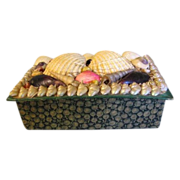 Victorian Sea Shell Box, Made in France
