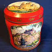 SALE Small Scribbans Kemp Bakery Tin, British Scenes