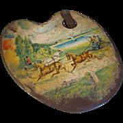 Circa 1901 British Biscuit Tin, PALETTE, Huntley & Palmers
