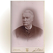 SALE Cabinet Photograph Card, Distinguished Older Gentleman