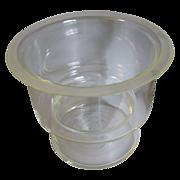 SALE Large Piece of Scientific Glass, Dessicator