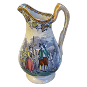 SALE Early Staffordshire Pottery Milk Pitcher