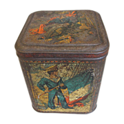 SALE Very Rare 1888 Huntley & Palmers Biscuit Tin, SAILOR