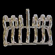 SALE Vintage Silver Plated Toast Rack (Holder)