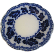 SALE Lovely Flow Blue Bread & Butter Plate, NORMANDY