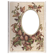 SOLD Colored Page from Victorian Photograph Album, Cabinet Photograph