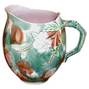 Lovely Large Etruscan Griffin Smith & Hill Hawthorne Pitcher