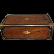 SALE Large 1864 Presentation Writing Box, Lap Desk