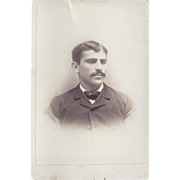 SALE Cabinet Photograph of Young Gentleman, Guyes