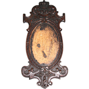 Lovely Regal Carved Frame, Oval Opening
