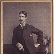 SALE Cabinet Photograph of Young Gentleman