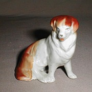 Very Nice Ceramic Dog, Red and White Collie