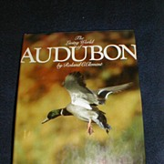 "REDUCED Lovely Collectible Coffee Table Book, ""The Living World of Audubon"" Clement"