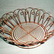 Wonderful and Useful Antique Wireware Bread Basket