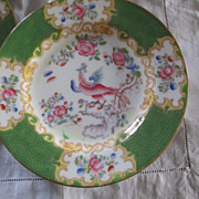 """SALE Set Of 6 """"Cocatrice Green"""" By Minton Bread Plates"""