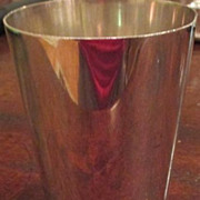 Asprey & Co. Silver Plated Tumbler