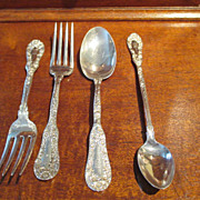 "SALE Dominick & Haff ""#10"" Sterling Flatware"
