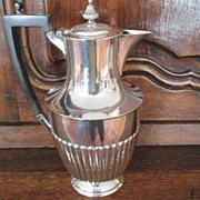 English Atkin Bros. Silver Plated Jug