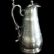 SALE Meriden Victorian Syrup Pitcher C:1890