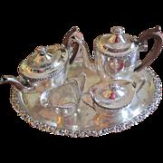 SALE Ellis Barker Tea/Coffee Set With Tray