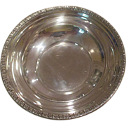 "5 1/2"" Sterling Wine Coaster/Bowl"