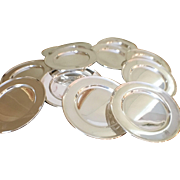Set Of 12 Sterling Plates By Wallace