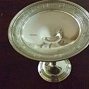 """Wedgwood"" By International Sterling Compote 4.79 Troy Oz"