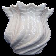 Irish Belleek Shell Vase