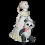 "Cybis Porcelain Figurine ""Goldilocks and Panda Bear"""