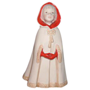 "SALE Cybis Porcelain Figurine ""Little Riding Hood"""
