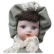 Vintage Tiny Bisque Doll