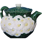 The Haldon Group 1988 Teapot Japan Majolica Style Sunflowers