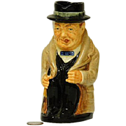 """Royal Doulton Winston Churchill 5"""" Toby Character Mug"""