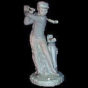 "Lladro Porcelain ""Golfer"" # 4824"