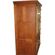Early 1900s Commercial Oak Ice Box