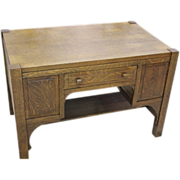 Mission, Arts & Crafts Oak Desk