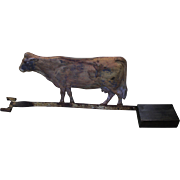 Old Tin Cow Weathervane