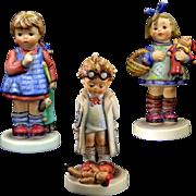 SALE Hummels Lot of Three Doll Theme 486, 127, 422