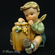 SOLD Hummel 312 Honey Lover MINT In Box COA Exclusive Edition Retired TMK-7