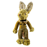 SALE 1930 Chad Valley Mohair Bunny Rabbit Rare Find