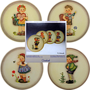 SALE Set OF 4 Hummel Celebration Plate Series In Boxes