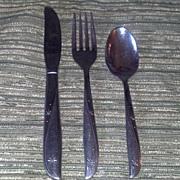 Twin Star Atomic Ware Children's Set Cutlery/Flatware