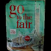 New York World's Fair Coca Cola Pavilion Poster 1964 1965 Original
