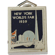 New York World's Fair Pocket Watch Square 1939 1940 Working