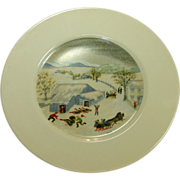 Atlas China, Grandma Moses Limited Edition Plate
