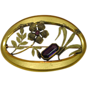 Edwardian Sash Pin, George L. Paine Co., 1909-1922