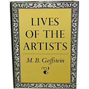 Lives of the Artists, M. B. Goffstein, 1981, First Edition, illustrated