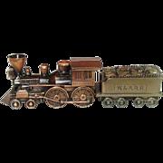 Vintage Coin Banks, Banthrico, Inc., Locomotive and Fuel Car