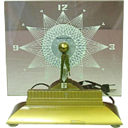 MasterCrafters Clock, Model No. 146, Stralight, Electric, 1959